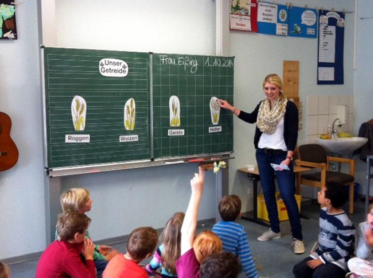 Sitzkreis einf hren grundschule for Schreibtisch grundschule