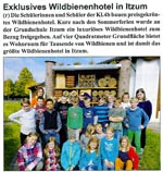 Exklusives Wildbienenhotel in Itzum